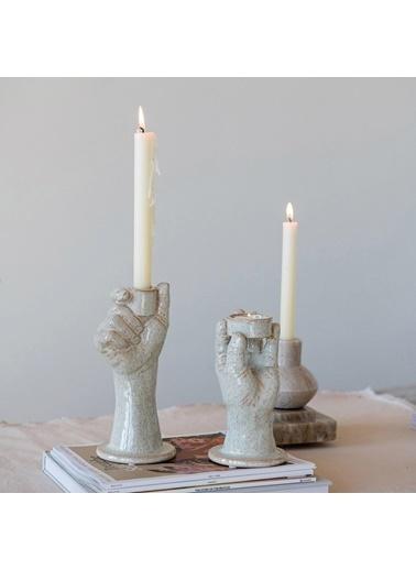 Warm Design Porselen Mumluk Krem